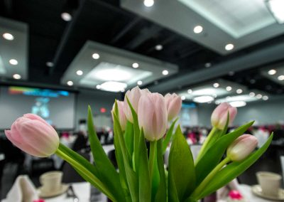 Lake Winnebago Conference Center Tulip Centerpiece