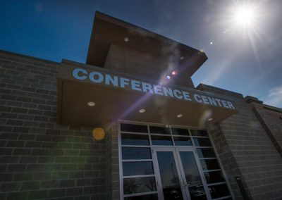 Lake Winnebago Conference Center Exterior Sun Rays