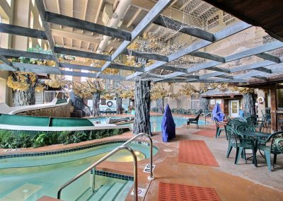 Holiday Inn and Suites Madison WI Crawdaddy Cove Water slide Jacuzzi Waterpark