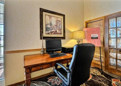 Comfort Inn Fond du Lac Business Center Computer Desk Chair