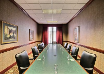 Holiday Inn and Suites Madison WI Boardroom Leather Executive Chairs