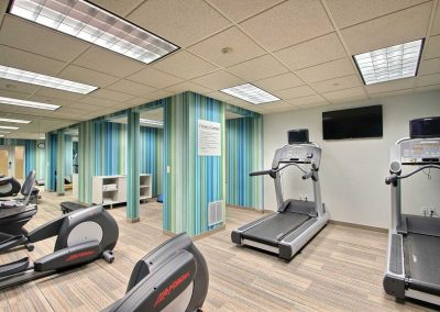Holiday Inn Express Milwaukee Airport Fitness Center Treadmills Elliptical