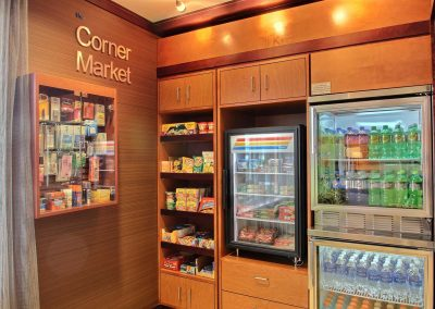 Fairfield Inn and Suites Milwaukee Airport Corner Market Convenience Store