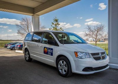 Comfort Inn Fond du Lac Shuttle Van