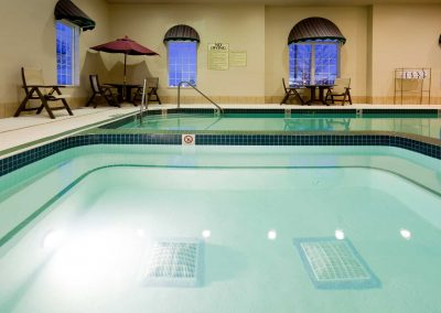 Holiday Inn Express Oshkosh Pool Hot Tub Whirlpool