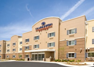 Candlewood Suites Milwaukee Airport Exterior Day Parking Lot