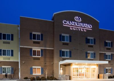 Candlewood Suites Milwaukee Airport Exterior Night