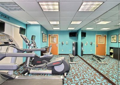 Fairfield Inn and Suites Milwaukee Airport Fitness Center Treadmill Elliptical Stationary Bike