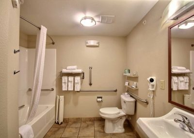 Candlewood Suites Milwaukee Airport Bathroom ADA